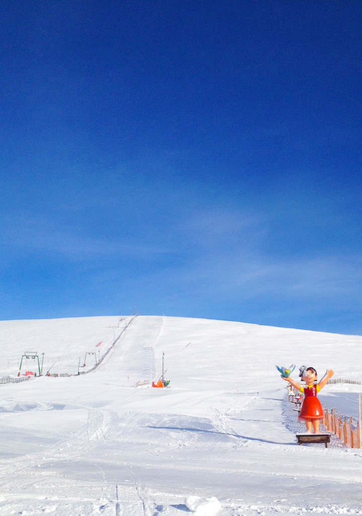 Skigebiet Falkert mit Heidi